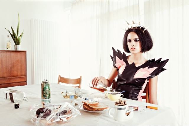 Photo : ©Lisa Carletta, Model: Marilyn de l'agence Jill Model Make-Up/Hair: Orla McKeating