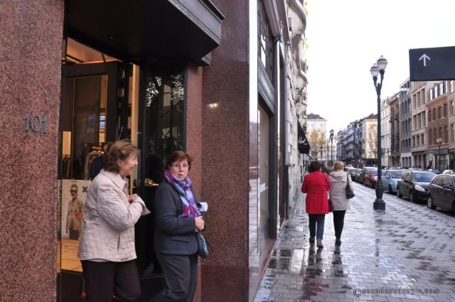 Dimanche 27 après-midi, rue Dansaert...