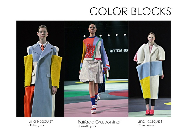 les color blocks