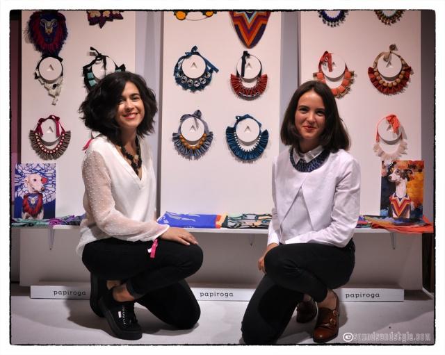 Leire Urzaiz y Estefania de Oliveira