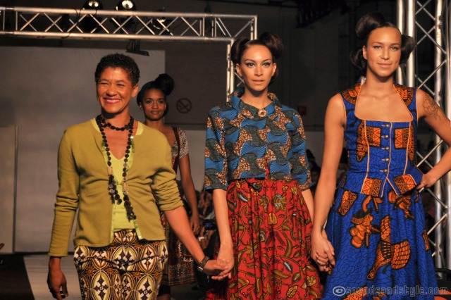 NOH NEE's designer and her models  ( Cameroun/Germany )
