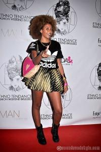 Erika lambion à L'Ethno Tendance Fashion Weekend