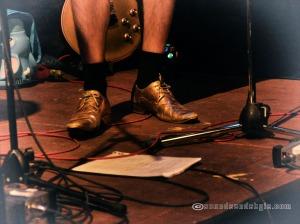 Alek gold shoes